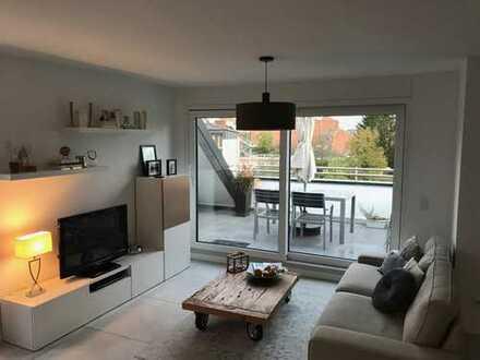 Ansprechende 4-Zimmer-Maisonette-Wohnung mit Logia und vier Balkonen in Aschaffenburg