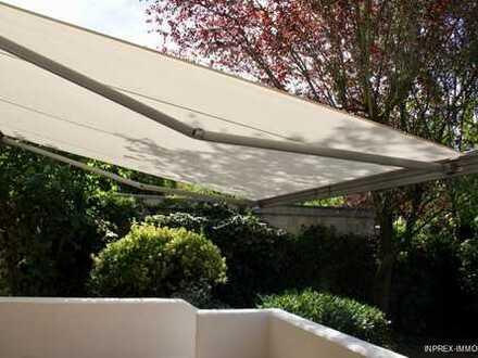 High-end Sanierung einer EG-Whg. mit Süd-West-Terrasse und Zugang zu Garten (halbes Geschoss tiefer)