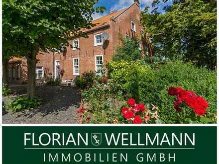 Dornum   Ferienwohnung mit schöner Terrasse und Garten als Oase zum Entspannen an der Nordsee