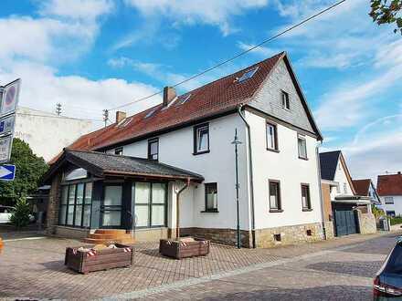 Waldalgesheim – Großzügiges Wohnhaus mit separater Wohnung und Gewerbeflächen!
