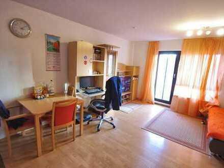 Freundliches 1-Zimmer-Apartment mit Singleküche und Balkon im südlichen Stadtgebiet