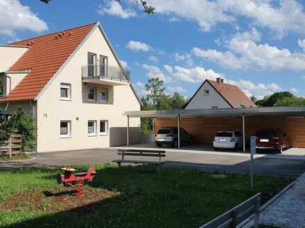 Attraktive Neubauwohnung mit Blick ins Grüne!