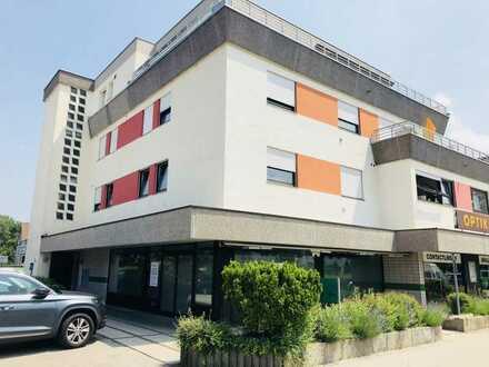 Büro / Laden mit 93 m² im EG und 125 m² Lagerfläche im UG