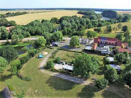 weitläufiges Anwesen am Mühlenteich Nähe Weinanbaugebiet Schloss Rattey