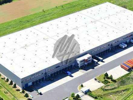 KEINE PROVISION ✓ RAMPE + EBEN ✓ Lager-/Logistik (28.000 m²) & Büro (1.000 m²) zu vermieten
