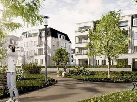 STILVOLL LEBEN AM STADTPARK. 3. BA, -Großzügige Familienwohnung mit Sonnengarten-