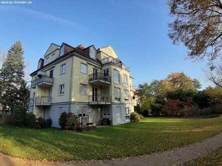 Sehr schöne 3-Raum-DG-Eigentumswohnung in Elb-Nähe in Blasewitz