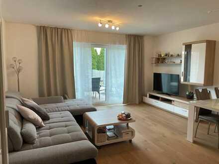 2 Zimmer Erdgeschosswohnung mit EBK + Garten inkl. 2 Stellplätze