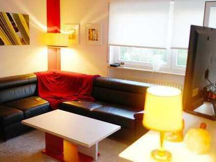 Exklusive, sanierte und möblierte 1,5-Zimmer-Wohnung mit Balkon und Einbauküche in Lörrach