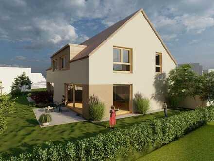 Solides Doppelhaus inkl. Grundstück, Keller und Garage zum Festpreis