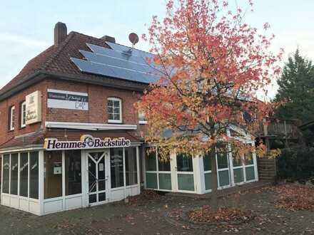 Bäckerei neu zu vermieten nebst Wintergarten-Cafe und Aussenterrasse zur Bewirtung