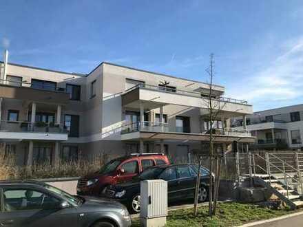 Teilmöblierte, neuwertige 2-Zimmer-Wohnung mit Balkon, Küche und 2 TG's in Wendlingen