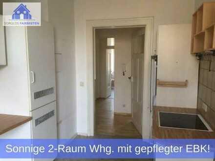 Traumhafte & zentral gelegene 2-Raum Wohnung mit Einbauküche und sonnigem Balkon!