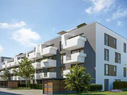 Raum für Ihre Wohnwünsche! 4-Zi.-Wohnung mit Terrasse und Gartenanteil in autofreiem Wohnquartier