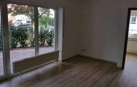 Erstbezug nach Sanierung mit Terasse: ansprechende 2-Zimmer-Wohnung in Karlstein am Main