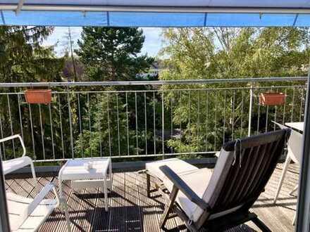 Lindenthal - Schicke Maisonette-Wohnung mit großer Dachterrasse, zentral: Nähe Uniklinik/Universität