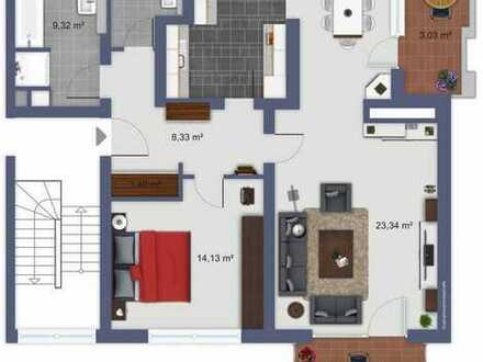 """2,5 bis 3,5 Raum-Designerwohnung in Altenbochum! """"Einziehen ohne einen Pinselstrich""""!"""