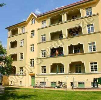 *wohnwert-leipzig.de* großz. 2-Zi-Whg/Balkon/Tageslichtbad/Wohnküche/sep.Abstellr./ges: 529,-€