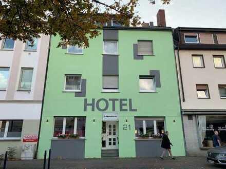 Hotel zu verkaufen in ruhiger Lage. Trotzdem sehr zentral gelegen.