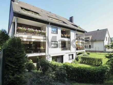 Bewohnte 3-Zi.-ETW mit Loggia und Einzelgarage in Köln-Alt-Brück
