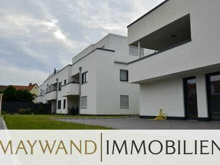 Top gepflegte 3-ZKB-Wohnung mit Balkon, EBK und  2-TG Stellplatz in bester Lage von Kronau