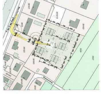 5 x Villen Grundstücke mit genehmigtem Plan voll erschlossen.