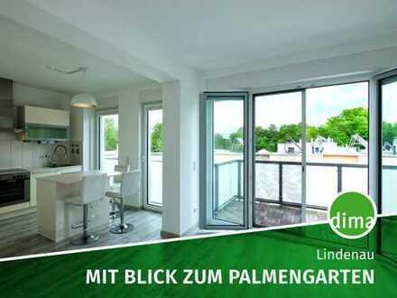 Traumhafte Maisonette-Wohnung direkt am Palmengarten mit Whirlpool, Klimaanlage, Einbauküche u.v.m.!