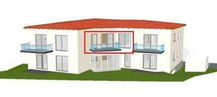 sonnige 2 Zimmer Wohnung in Edelsfeld NEUBAU / ERSTBEZUG - KfW 70