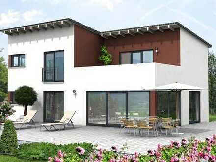 DUMAX-Massiv*****Traumhaftes Familienhaus mit Pultdach zum Verlieben
