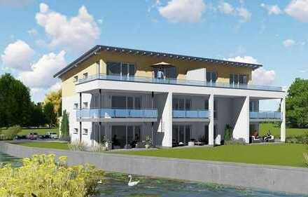 Luxuriöser Neubau mit Garten direkt am Wasser