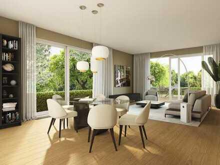 Elegantes Domizil mit lichtdurchfluteten Räumen, großer Terrasse und ~200qm Garten in Parklage