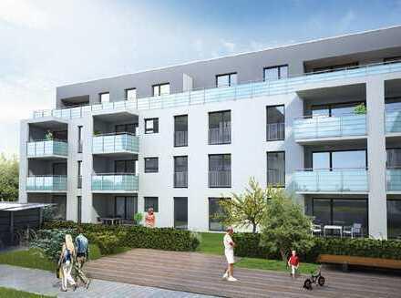Moderne 3-Raum-Wohnung mit Balkon, Einbauküche und Tiefgarage Stellplatz in Magstadt