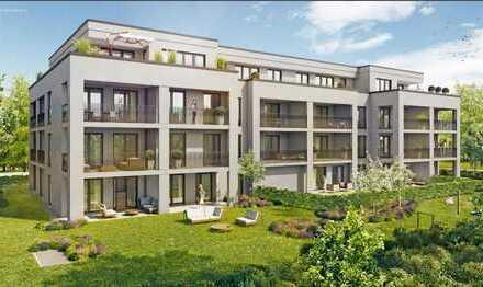 Erstbezug: stilvolle 3-Zimmer-EG-Wohnung mit Terrasse und großem Garten in Ottobrunn