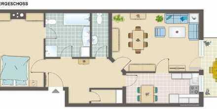 Kapitalanlage! Gut vermietete 2- Zimmer Eigentumswohnung mit Balkon in Reichelsheim