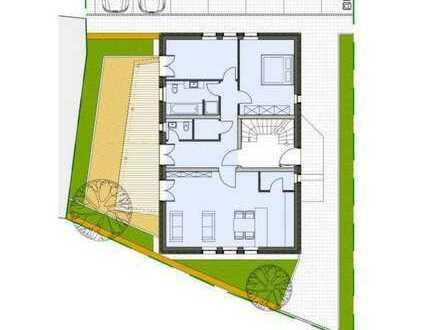 Erdgeschoss-Wohnung mit Terrasse und zwei PKW-Stellplätzen