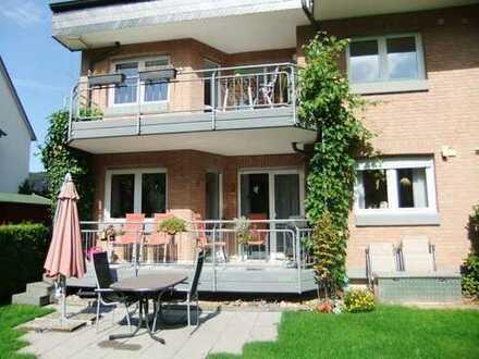 Zentral in Overath - Traumhafte Wohnung mit Garten an der Agger