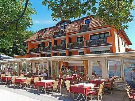 Ammersee - Promenade Herrsching - Restaurant direkt am Dampfer Steg