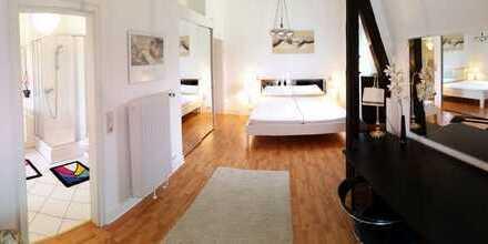 PROVISIONSFREIE 4-Zimmer-Wohnung, Jugendstil-Villa am Kurpark, unmöbliert / teilmöbliert, Balkon