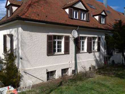 Gründerzeit-Doppelhaushälfte mit großem Garten in Rottweil