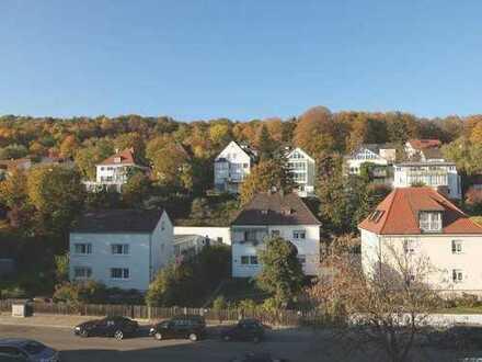18_EI6328 Helle 4-Zimmerwohnung mit Westloggia und herrlichem Ausblick / Regensburg - Steinweg