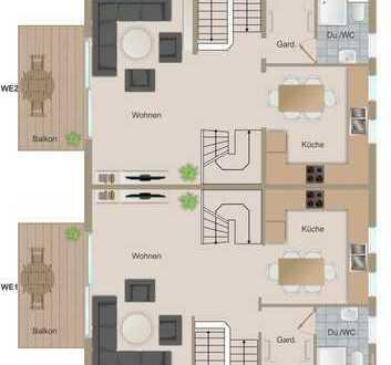 Modernes 2-Familienhaus in idyllischer Lage mit Einliegerwohnung & S-Bahnanschluss