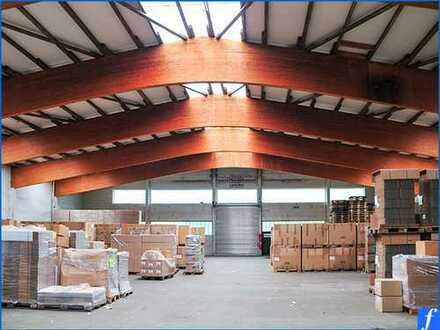 Kaltlagerhalle * Rolltor * 26,9 m stützenfreie Breite * 4,5 m - 6,65 m lichte Höhe * Provisionsfrei