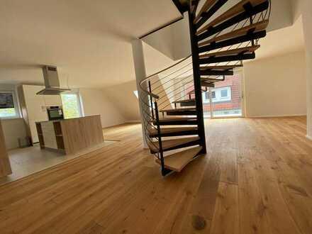 Neubau - Wunderschöne 4 Zimmer Maisonette Wohnung mit Balkon!