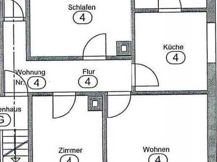 Helle und geräumige 3 Zi. Wohnung im 1. Obergeschoss