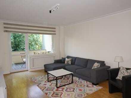 Df.-Zoo: Hochwertige 4-Zimmer-Wohnung mit Balkon und Blick ins Grüne