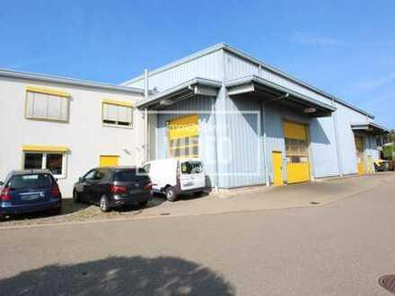 Lagerhalle mit Bürogebäude und Stellplätzen in Althengstett