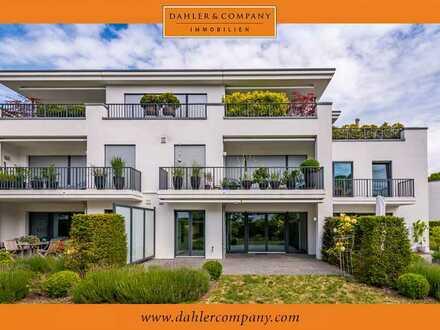 Neuwertige Maisonette-Wohnung mit Südgarten