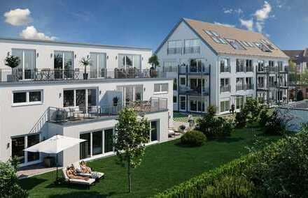 bereits 70% verkauft!Provisionsfrei! Exkl. 3-ZKB mit Süd-Terrasse/Garten und TG - perfekte City-Lage