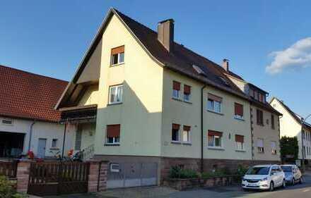 Vermietetes 3-Familienhaus und Nebengebäude mit Garagenstellplatz
