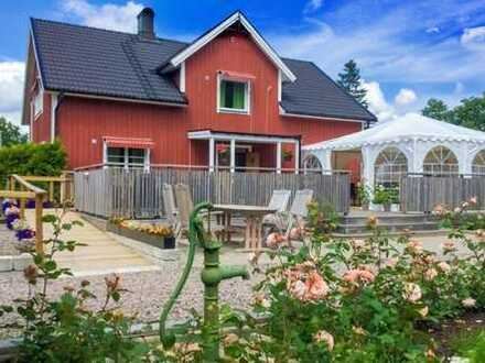 Bed & Breakfast in der Provinz Haland/Schweden